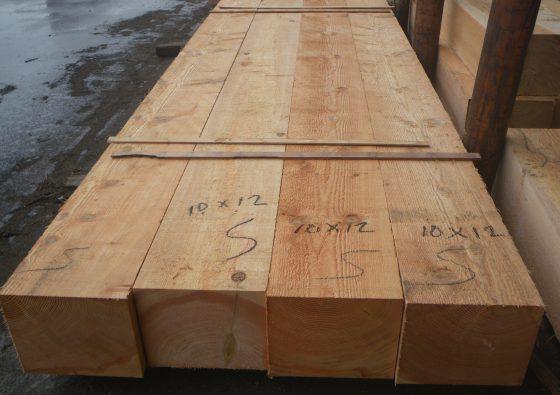 10x12 Fir Timber