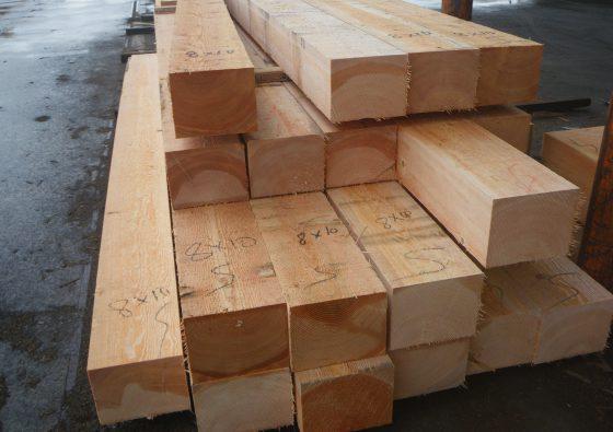 8x10 Firr Timber