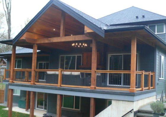 dfir timber house